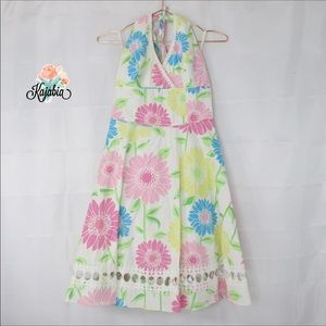 LILLY PULITZER Floral Sleeveless Dress Size 0💥💥